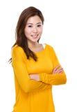 asiatiskt kvinnabarn Arkivfoton