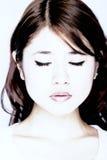 asiatiskt kvinnabarn Royaltyfria Foton