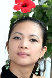 asiatiskt kvinnabarn arkivbild