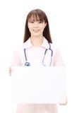asiatiskt kvinnligsjuksköterskabarn Royaltyfria Foton