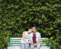 Asiatiskt lesbiskt parbegrepp för LGBT royaltyfri fotografi