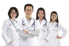 asiatiskt medicinskt lag Fotografering för Bildbyråer