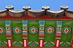 asiatiskt taktempel Royaltyfri Bild