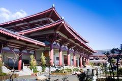 asiatiskt tempel arkivfoto