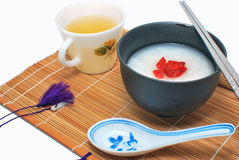 asiatiskt utformat sunt för frukost Arkivfoton