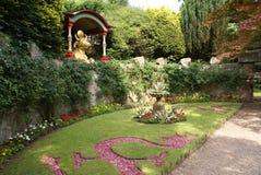 Asiatträdgård Arkivfoto