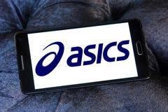 Asics logo Royalty Free Stock Photo