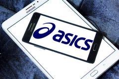 Asics logo Stock Photography