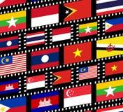 Asie du Sud-Est illustration de vecteur
