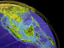 Asie du Sud-Est de l'espace illustration de vecteur