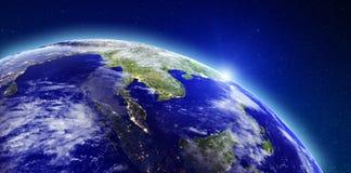 Asie du Sud-Est illustration libre de droits