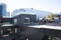 In Asien öffnen Peking, China, das Gewerbegebiet, Taikoo Li Sanlitun Stockbild