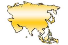 Asien översiktsöversikt royaltyfria bilder