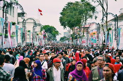 Asien Afrika festival Royaltyfri Foto