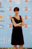 Asien Argento alGiffoni filmfestival 2015 Arkivfoton