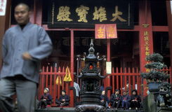 ASIEN CHINA CHONGQING Stockbilder