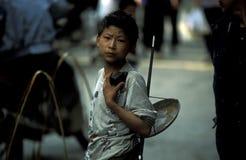 ASIEN CHINA DER JANGTSE Stockbild