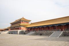Asien China, Peking, der Kaiserpalast, die Geschichte des Gebäudes, Pavillons, Terrassen und offene Hallen Stockbilder