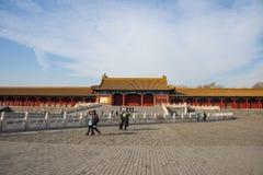 Asien China, Peking, der Kaiserpalast, Royal Palace Lizenzfreies Stockfoto