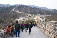 Asien China, Peking, historische Gebäude, die Chinesische Mauer Stockfotografie