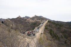 Asien China, Peking, historische Gebäude, die Chinesische Mauer Stockbilder