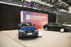 Asien China, Peking, nationales Convention Center, importieren Selbstausstellung lizenzfreie stockfotos