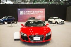 Asien China, Peking, nationales Convention Center, importieren Selbstausstellung lizenzfreie stockbilder