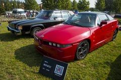 Asien China, Peking, Oldtimershow, Alfa Romeo SZ-Auto Lizenzfreie Stockfotografie