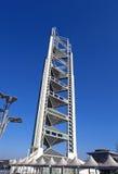 Asien China, Peking, Olympiapark, Landschaftsarchitektur, linglong Turmauftritt Lizenzfreie Stockbilder