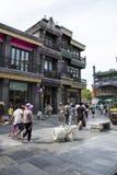 Asien, China, Peking, Qianmen-Straße, Einkaufsstraße, Wegstraße Stockfoto