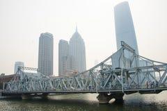 Asien China, Tianjin, jiefang Brücke, lizenzfreies stockbild