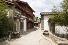 Asien-Chinese, Peking, China Minzu Yuan, Naxi-minorityï ¼ ŒResidence Lizenzfreies Stockbild