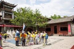 Asien-Chinese, Peking, China Minzu Yuan, Naxi-minorityï ¼ ŒResidence Stockfotos
