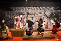 Asien-Chinese, Peking, Chinese Art Museum, Innenausstellung hallï ¼ Œ puppetï ¼ ŒChinese das traditionelle Mythos- figuresï ¼ Œ Stockfotografie