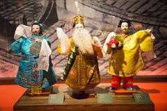 Asien-Chinese, Peking, Chinese Art Museum, Innenausstellung hallï ¼ Œ puppetï ¼ ŒChinese das traditionelle Mythos- figuresï ¼ Œ Stockbilder