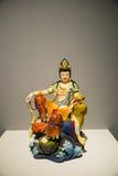 Asien-Chinese, Peking, Nationalmuseum, zeitgenössischer Art Biennale, Tang Cai, Kampfer, Guanyin Buddha Stockbilder