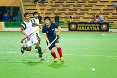 Asien-Cup-Hockey 2009 der Männer abschließend Stockfotografie