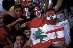 ASIEN DER LIBANON BEIRUT Stockbild