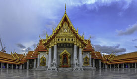 Asien, der Marmortempel (Wat Benchamabophit), Bangkok, Thailand Stockfotos