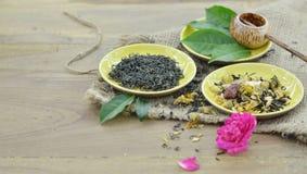 Asien des kulturellen trockenen Tees lizenzfreies stockfoto