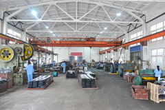 Asien fabrik Arkivbild