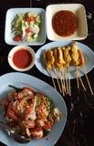 Asien foods Arkivfoton