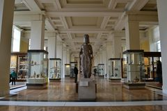 Asien galleri British Museum London Royaltyfria Foton