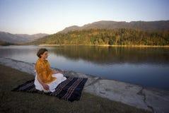 ASIEN INDIEN RISHIKESH Royaltyfri Bild