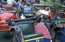ASIEN INDONESIEN JAKARTA Royaltyfri Fotografi