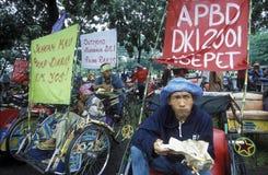ASIEN INDONESIEN JAKARTA Arkivfoto