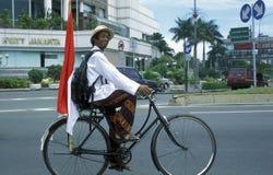 ASIEN INDONESIEN JAKARTA Arkivbild