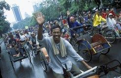 ASIEN INDONESIEN JAKARTA Arkivbilder