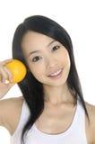 Asien-junge Frau Stockfoto