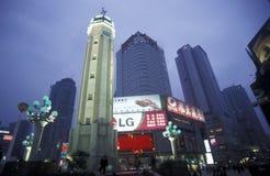 ASIEN KINA CHONGQING Arkivbild